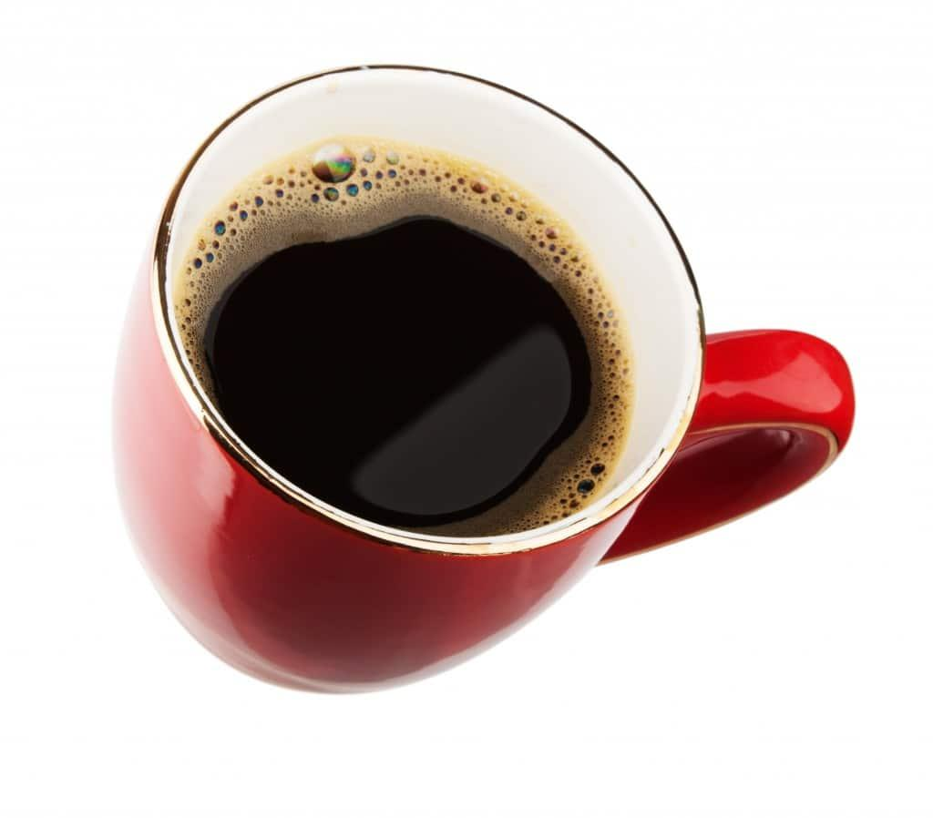 energy drink coffee in red mug image
