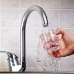 fluoride drinking tap water image