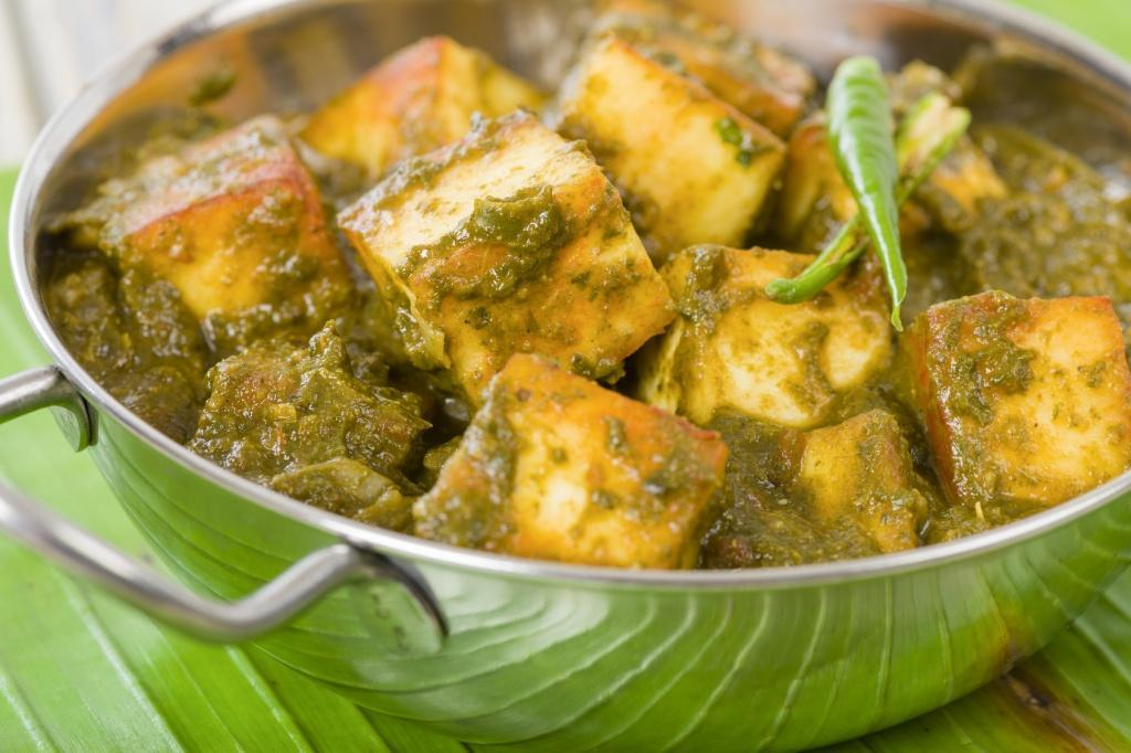 cultured food saag paneer image