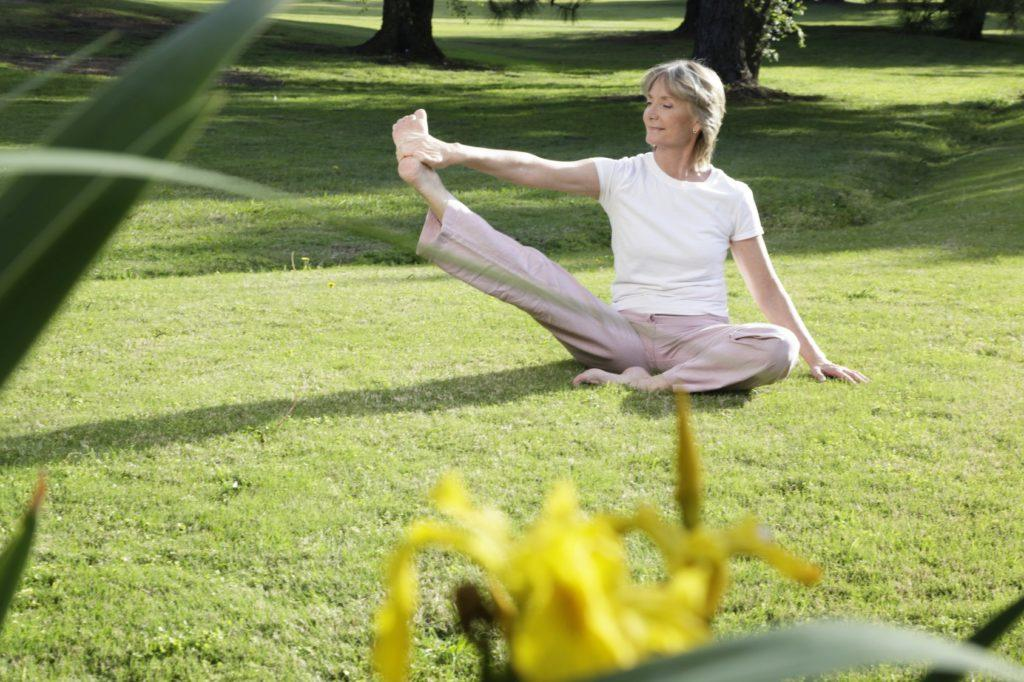 5 lox elderly woman exercising image