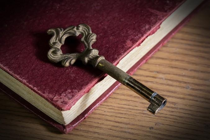 healthy-skin_antique-key-on-book_image