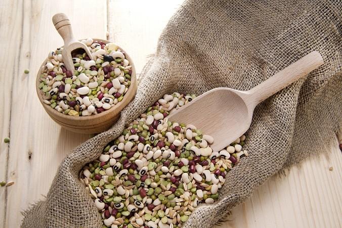 fiber beans and lentils