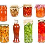 fermented jars of veggies