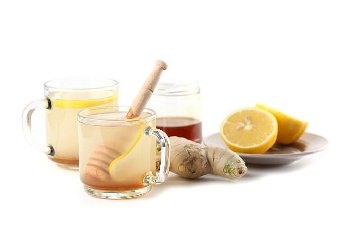 lemon ginger honey concoction image