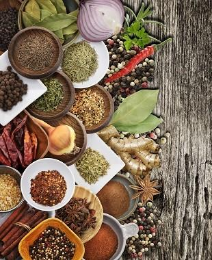 lifespa image, spices and herbs