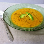 Carrot, Coconut & Tarragon Soup