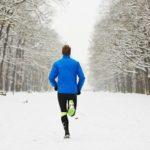 lifespa image, man running in snow
