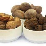 Triphala is a combination of three ayurvedic fruits: Amalaki,   Bibhitaki and Haritaki.