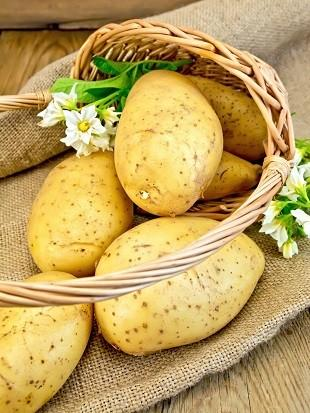 lifespa image, basket of potatoes