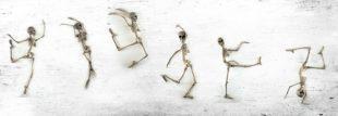 lifespa image, dancing skeletons, bone health