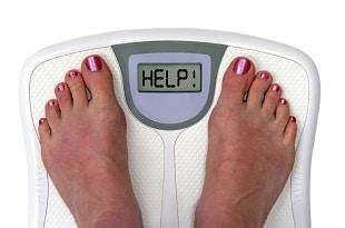 lifespa image, lymph, weight gain, scale, feet, help