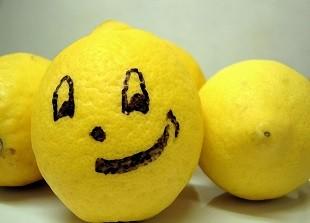 lifespa image, bitter taste, lemon face drawn