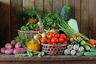 lifespa image, food toxins, basket of vegetables, nightshades