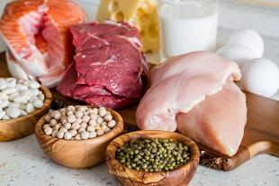 lifespa image, protein diet, high protein meats and legumes