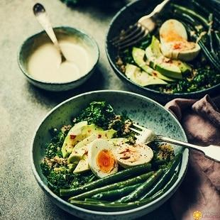 lifespa-image-mercola-fat-keto-podcast-egg-breakfast, high-fat diet