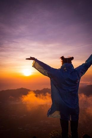 lifespa-image-mountain-sunset-arms-wide-open-silhouette, ways to gain weight