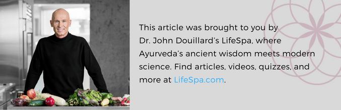 john douillard's lifespa, ayurveda, lifespa.com