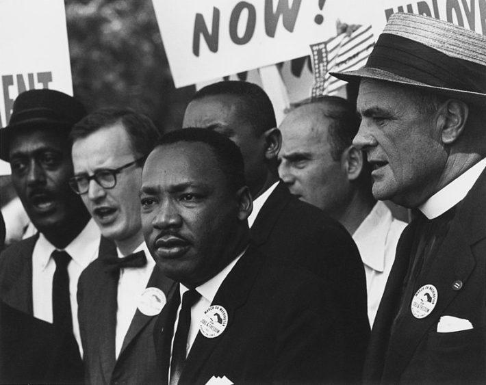 mlk march racism