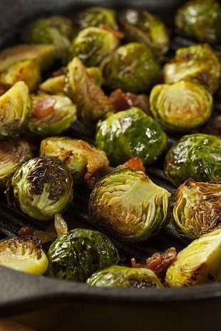 lifespa image, grilled brussel sprouts