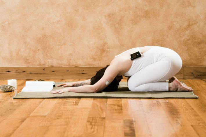 yoga for diabetes: child's pose